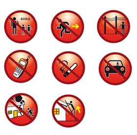 Risques naturels et risques technologiques les consignes individuelles de s - Respecter les consignes de securite ...