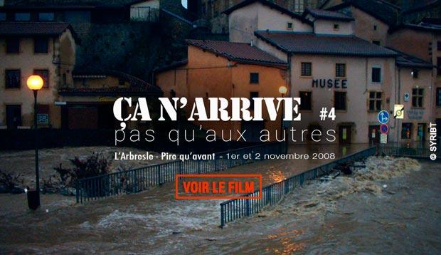 inondation Arbresle 2008