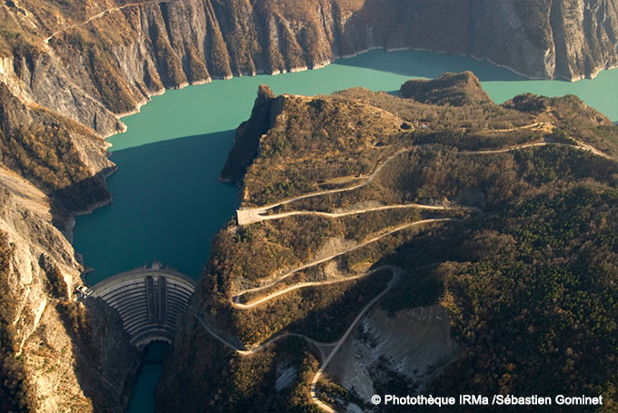 monteynard   les barrages
