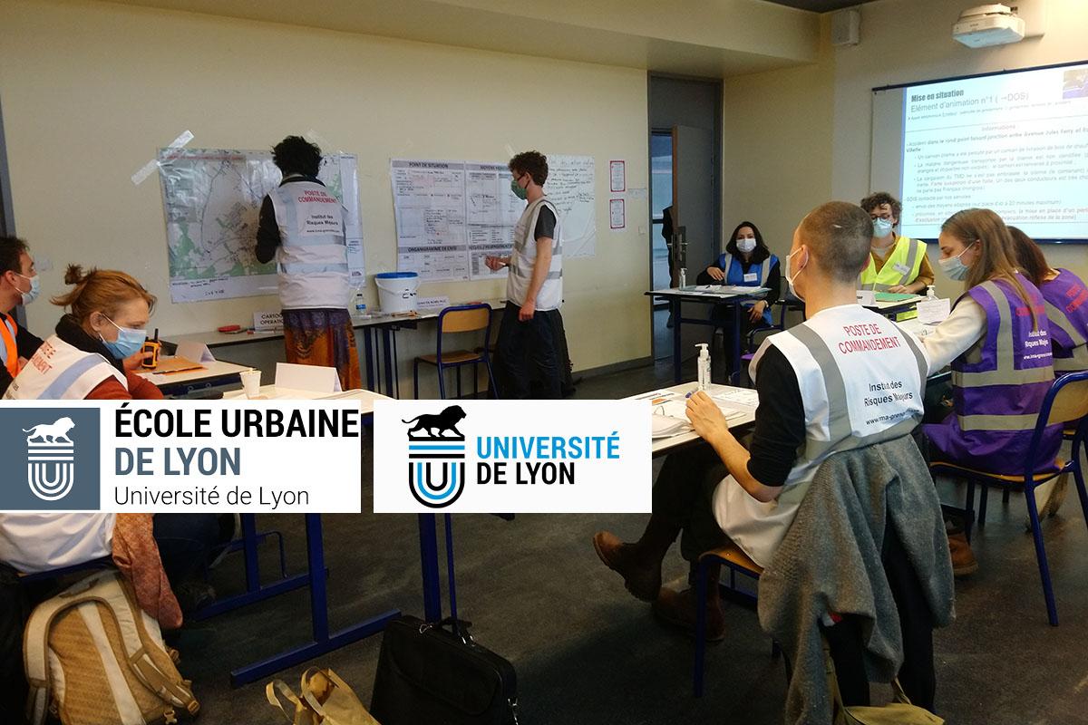 Parcours de formation avec l'Ecole Urbaine de Lyon
