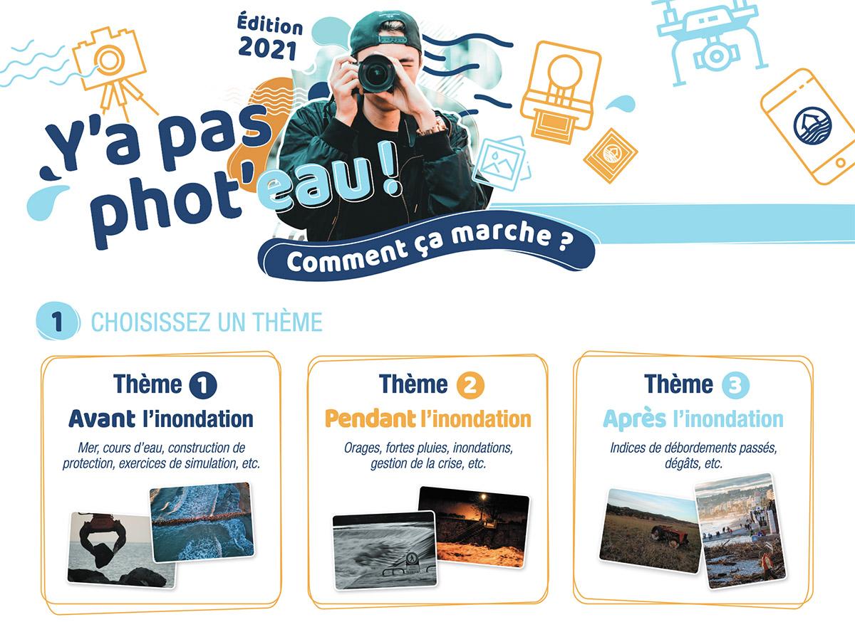 Participez à l'édition 2021 du concours Y'A PAS PHOT'EAU !