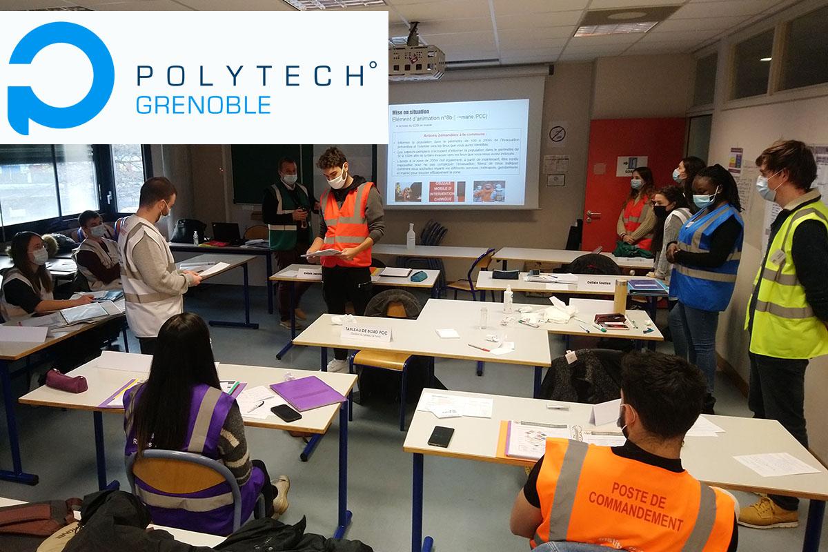La formation des étudiants de Polytech Grenoble se poursuit en parteneriat avec l'Université Grenoble Alpes