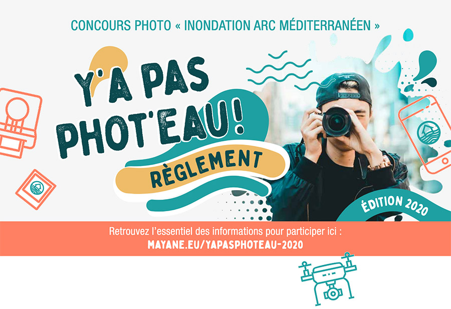 Un concours photo dédié aux risques d'inondation en zone méditerranéenne ouvert à tous !