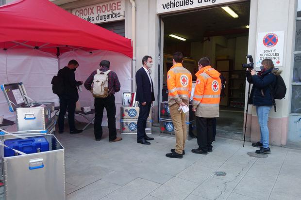 La mairie de Grenoble, le CCAS et la Croix-Rouge Française signent une convention pour une coopération en cas de crise