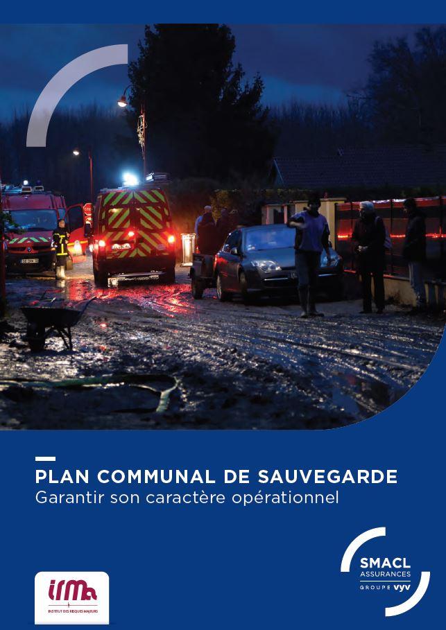 À découvrir, une nouvelle édition de la plaquette Plan communal de sauvegarde (PCS)