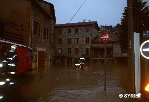 inondation Arbresle