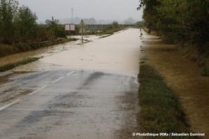 Inondations à Cuxac d'Aude le 15 octobre 2018