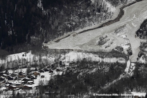 avalanche les Houches