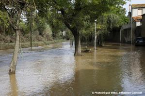 Inondations à Puichéric (Aude) les 15 et 16 octobre 2018