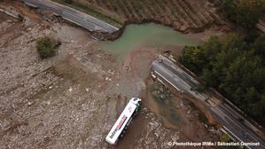 Inondations à Villalier (Aude) le 15 octobre 2018