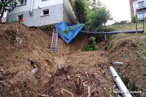 Glissement de terrain Bourdeau