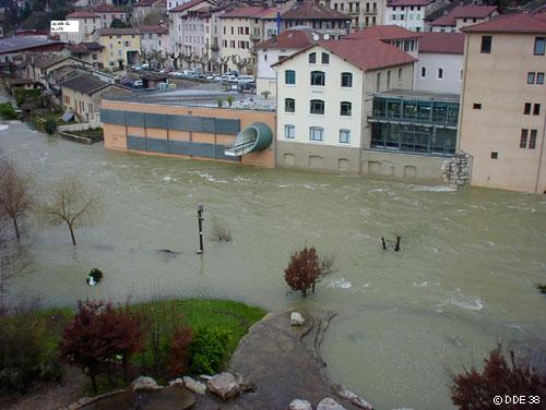 Pont en royans crue rapide des rivi res catastrophes naturelles crue de la bourne - Office du tourisme pont en royans ...