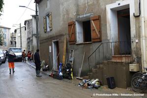 Inondations à Saint-Marcel-sur-Aude les 15 et 16 octobre 2018